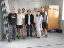 L'Escola Jaume Viladoms de Sabadell visita el Centre de Dia de l'Associació Êthos